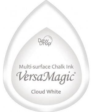 Rašalo pagalvėlė VersaMagic Dew Drop Cloud White balta