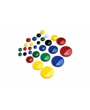 Magnetai geltoni 20mm, 6vnt