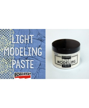 Pasta Pentart Modeling Paste Light, 150ml