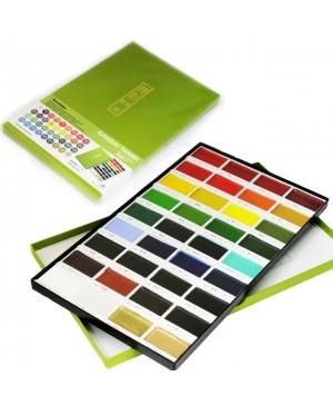 Akvarelė Gansai Tambi 36 spalvų
