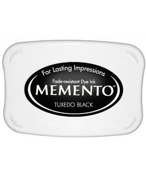 "Rašalo pagalvėlė Memento, 900 ""Tuxedo Black"" juoda"