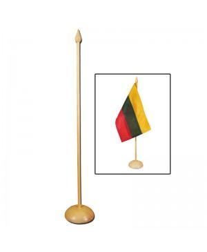 Medinis stovelis vėliavėlei, 31 cm aukščio, be vėliavos