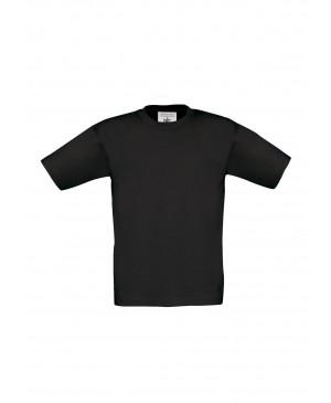 Vaikiški marškinėliai B&C 150, juodos spalvos