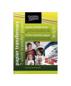 Popierius piešinio perkėlimui ant tamsių audinių T-shirt Transfer, A4, 5 lapai