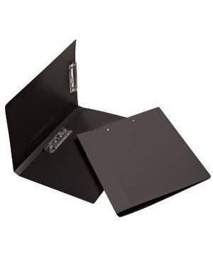 Atverčiama lentelė su dviem spaustukais A4, juodos sp.