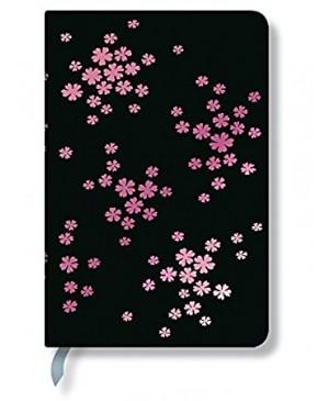 Užrašų knygutė Paperblanks Simply Holographic Petal Frost Mini 9.5x14 cm., 176 lapai linijomis
