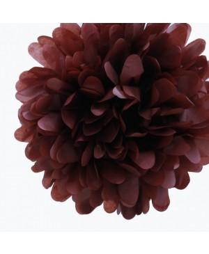 Tissue šilko popierius 30vnt, šokolado ruda 50x70cm (sp 35)