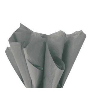 Tissue šilko popierius 30vnt, pilka 50x70cm (sp. 58)
