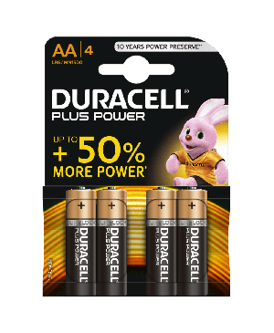 Elementas Duracell Plus Power LR6 MN1500, AA, 1 vnt.