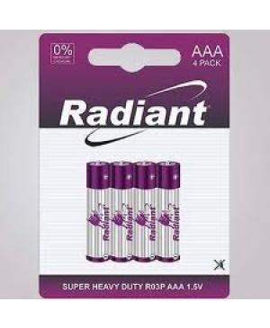 Elementas Radiant AAA ,1,5V, 4 vnt.