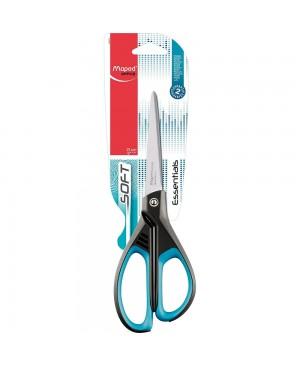 Žirklės Maped Essentials Soft, 21cm, asimetriškos, kabinamoje plokštelėje