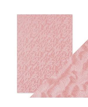 Popierius Pink Champagne, A4, 150 g/m², perlamutrinis su reljefu, 1 vnt.