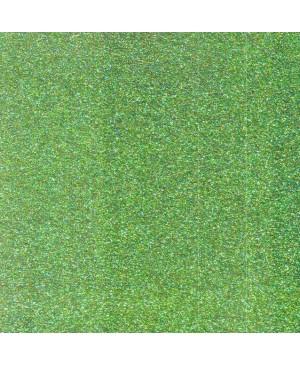 Putgumė su blizgučiais lipni, A4, žalia (25), 1 vnt.