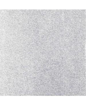 Putgumė su blizgučiais lipni, A4, sidabrinė (61), 1 vnt.