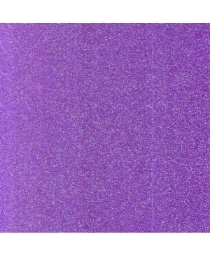 Putgumė su blizgučiais, A4, violetinė (43), 1 vnt.