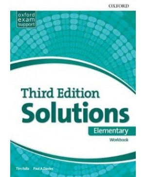 Solutions Elementary Workbook, 3rd edition