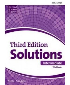 Solutions Intermediate Workbook, 3rd edition