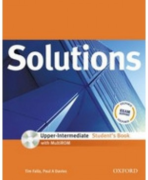 Solutions Upper Intermediate Student's Book with MultiROM