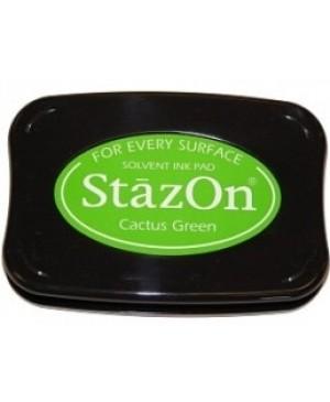 Permanentinė rašalo pagalvėlė StazOn Cactus Green