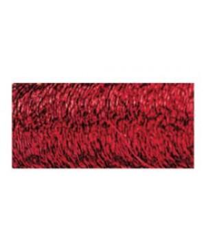 Vielutė banguota, storis 0,22 mm, 60 m, raudonos spalvos