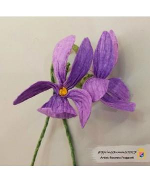 Krepinis popierius 50 cm x 2,5 m, 180 g/m², violetinė (17E/2)