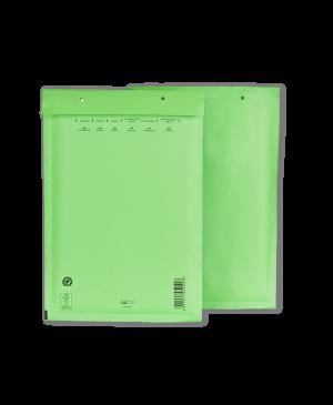 Vokas su apsaugine burbuline plėvele, 180x265mm 14/D, žalios sp.